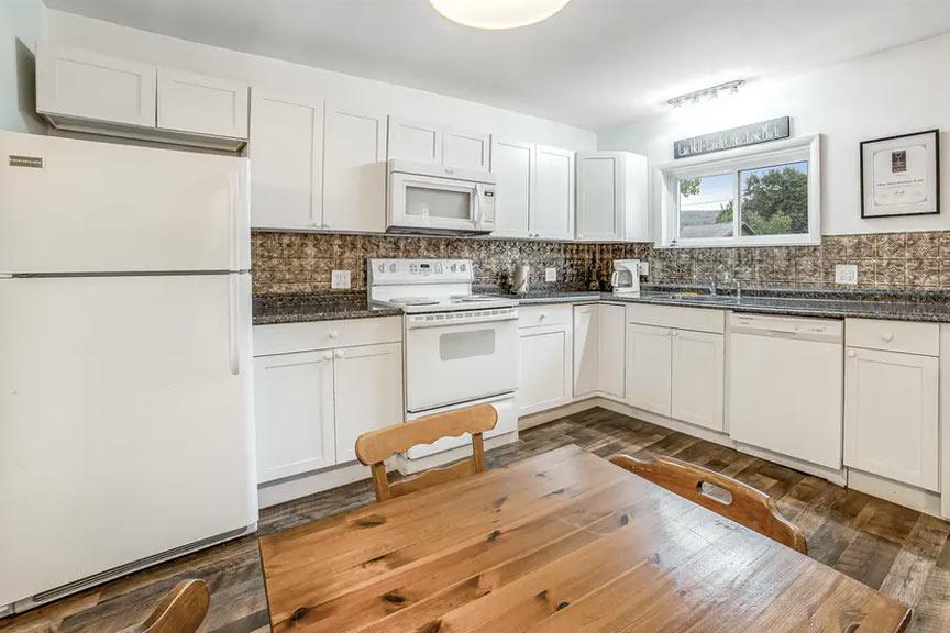 1835 House First Floor Kitchen Area